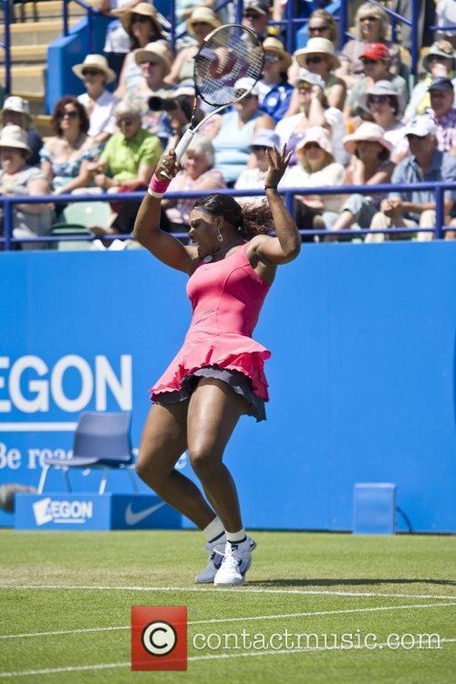 Aegon International Tennis Tournament in Eastbourne - Serena...