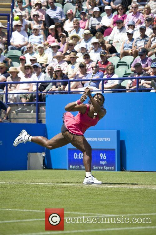 Serena Williams Aegon International Tennis Tournament in Eastbourne...