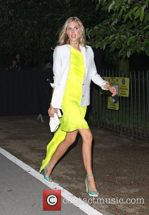Donna Air Burberry Serpentine Summer party 2011 held...