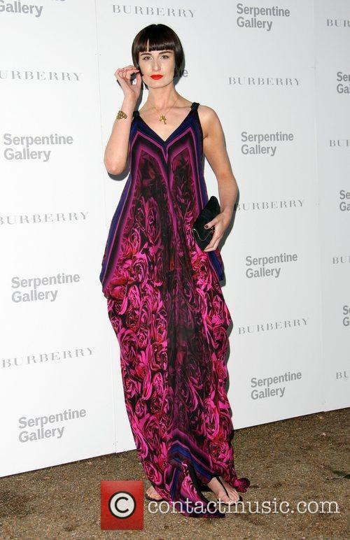 Erin O'Connor Burberry Serpentine Summer party 2011 held...