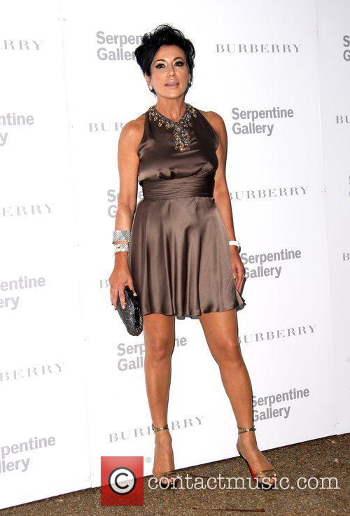 Nancy Dell'Olio Burberry Serpentine Summer party 2011 held...