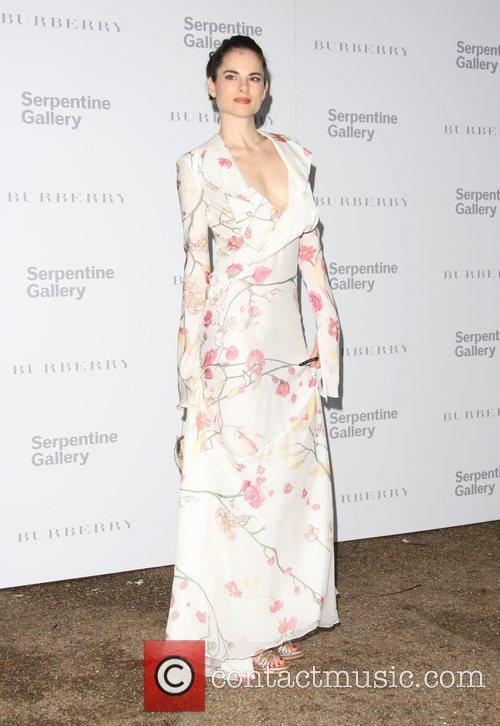 Amy Bailey Burberry Serpentine Summer party 2011 held...