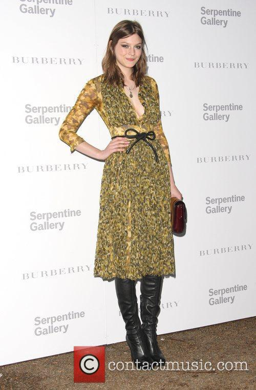 Amber Anderson Burberry Serpentine Summer party 2011 held...