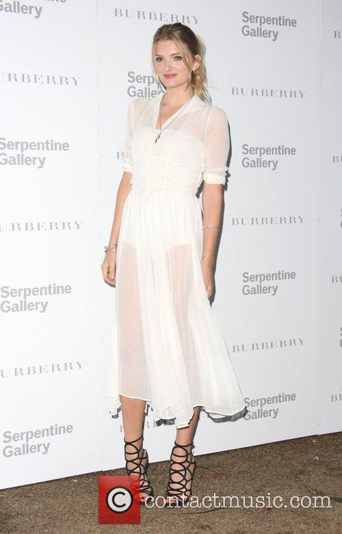 Lily Donaldson Burberry Serpentine Summer party 2011 held...
