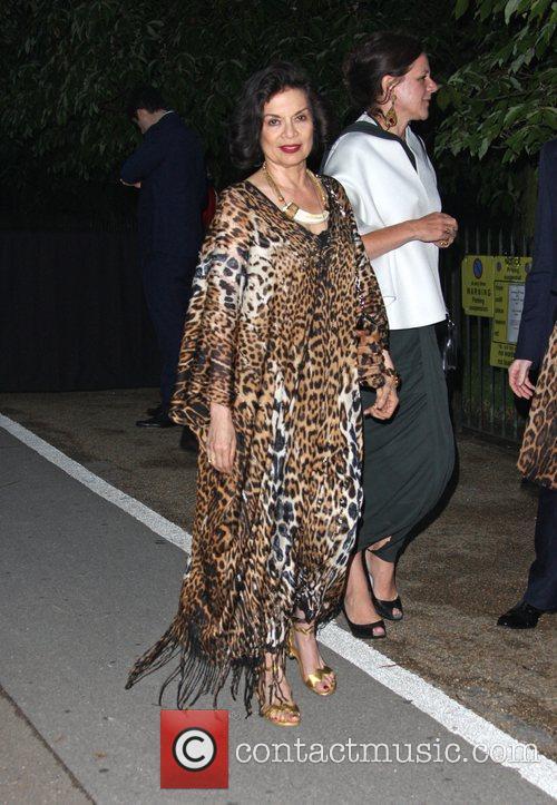 Bianca Jagger Burberry Serpentine Summer party 2011 held...