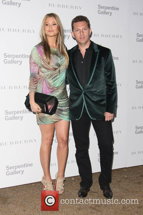 Holly Valance and Nick Candy Burberry Serpentine Summer...