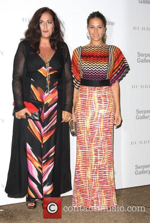 Margherita Missoni and Angela Missoni Burberry Serpentine Summer...