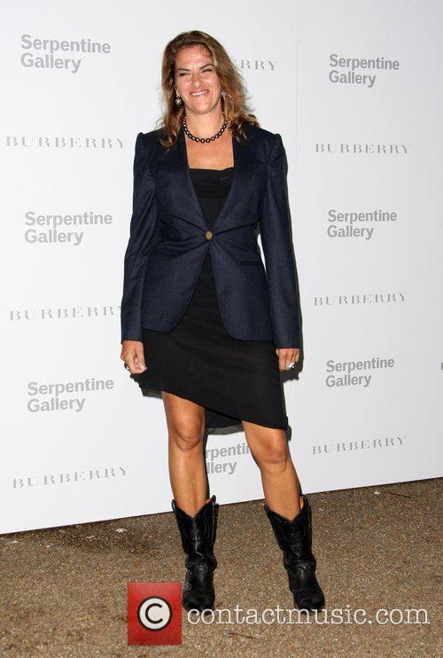 Tracey Emin Burberry Serpentine Summer party 2011 held...