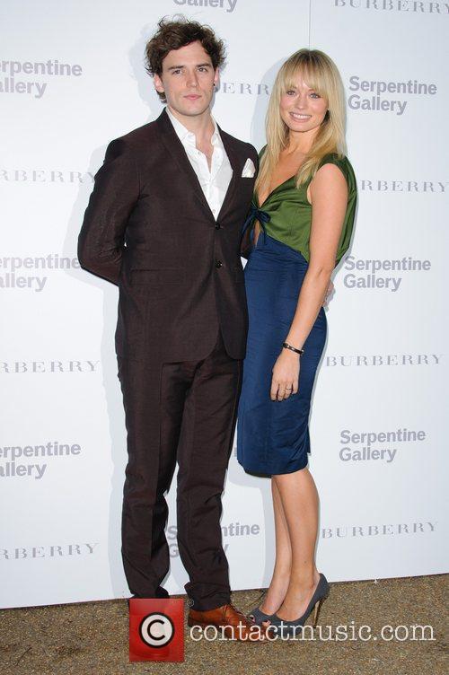 Sam Claflin and Laura Haddock Burberry Serpentine Summer...