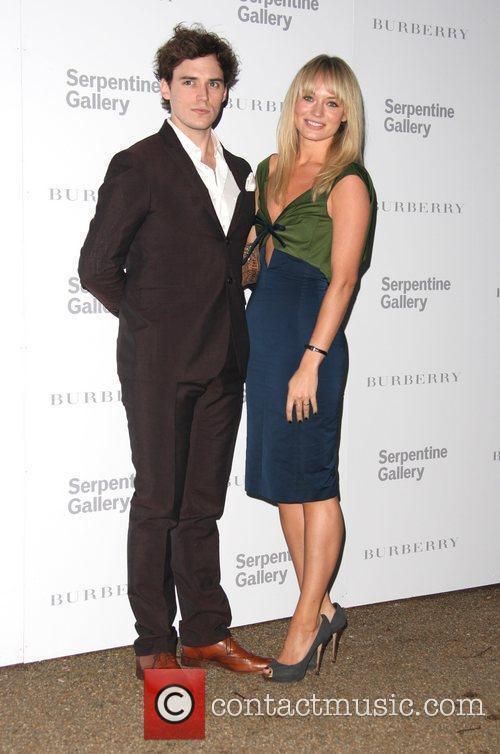 Laura Haddock and Sam Clafin Burberry Serpentine Summer...