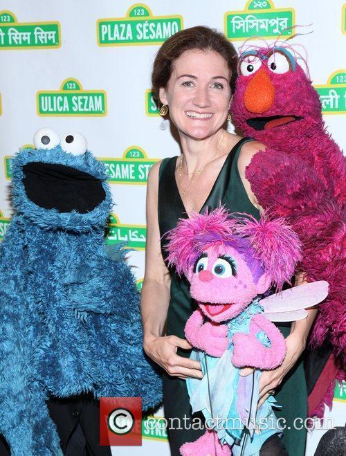 Cheryl Henson at the 9th annual Sesame Workshop...