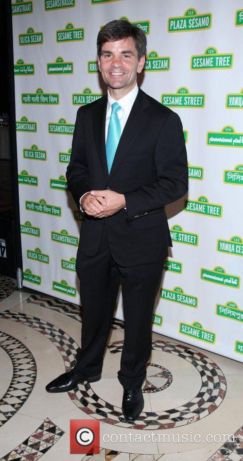 George Stephanopoulos at the 9th annual Sesame Workshop...