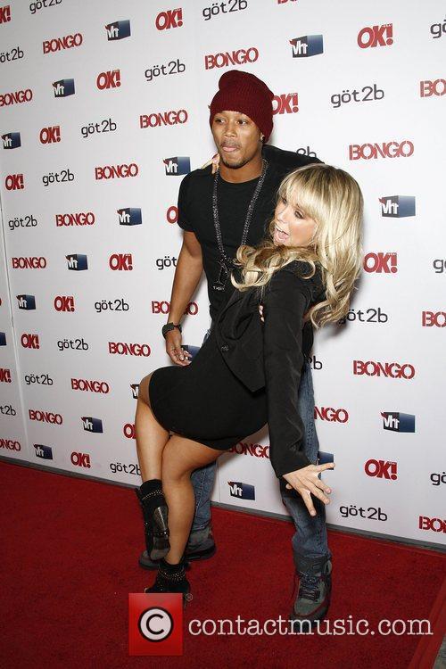 Romeo and Chelsie Hightower  OK magazine 'Sexy...