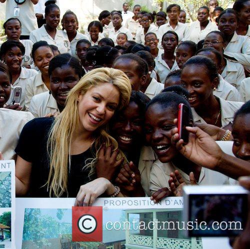 The Interamerican Development Bank and Colombian artist Shakira's...