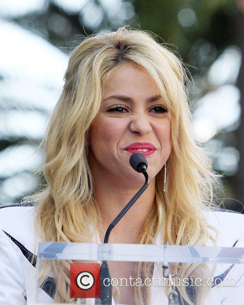 Shakira  Shakira is honoured with a star...