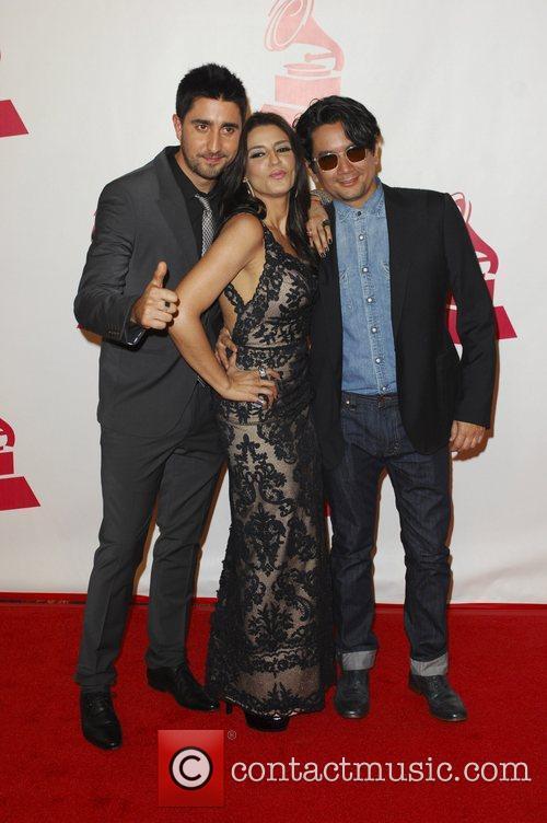 Alex, Lena, Jorge  2011 Latin Recording Academy...
