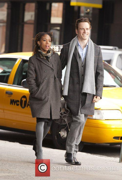 Michael Fassbender and Nicole Beharie 3