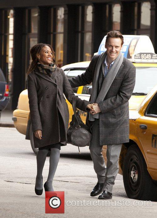 Michael Fassbender and Nicole Beharie 2