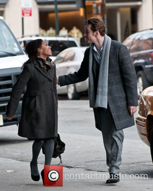Michael Fassbender and Nicole Beharie 9