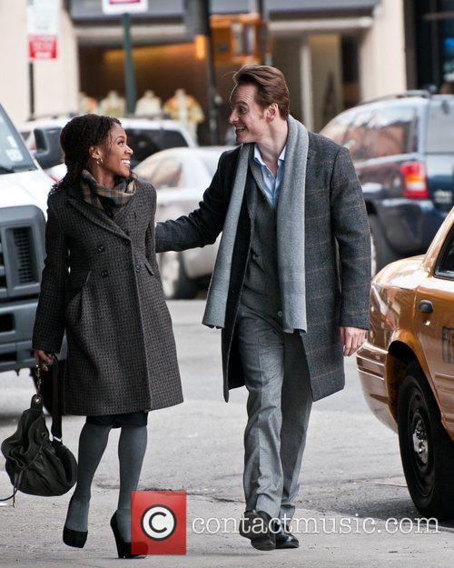 Michael Fassbender and Nicole Beharie 11