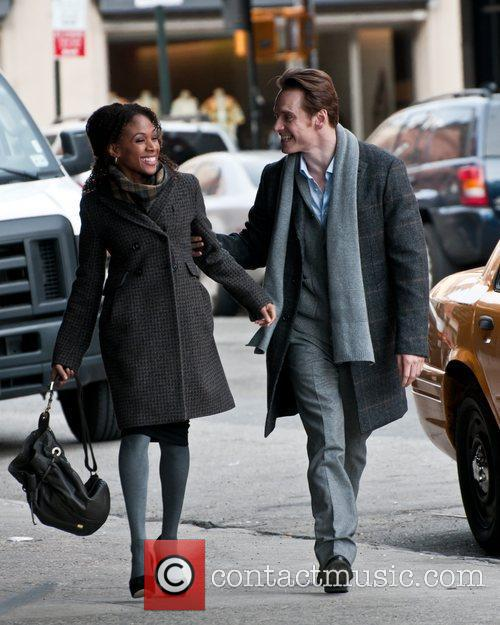 Michael Fassbender and Nicole Beharie 8