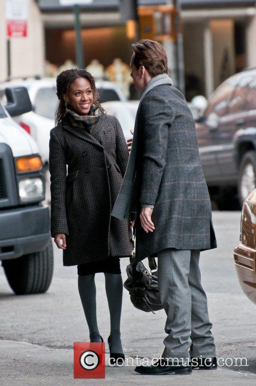 Michael Fassbender and Nicole Beharie 1