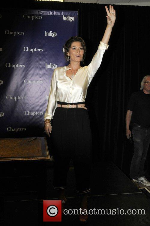 Shania Twain book signing at Indigo Manulife Centre...