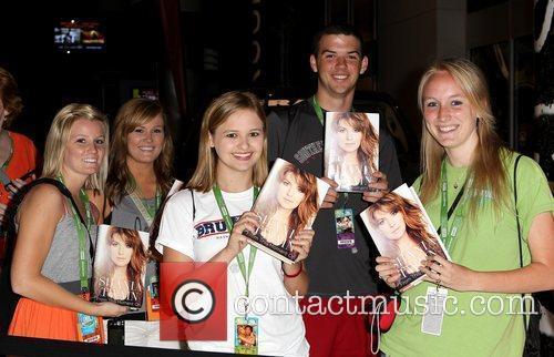 Shania Twain book signing at the Bridgestone Arena