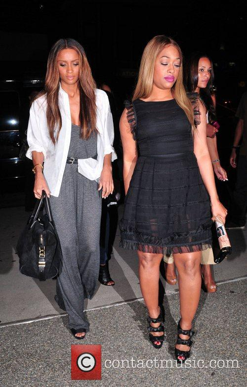 Monica and Shannon Brown 5