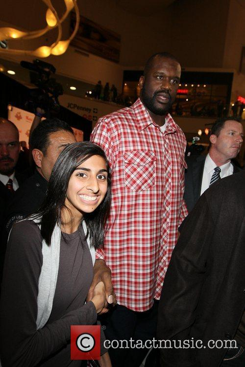 NBA star and Port Police Detective, Shaquille O'Neal...