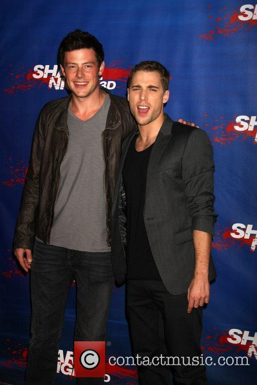 Cory Monteith and Dustin Milligan 1