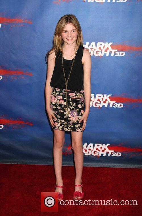 Morgan Lily  Screening of 'Shark Night' at...