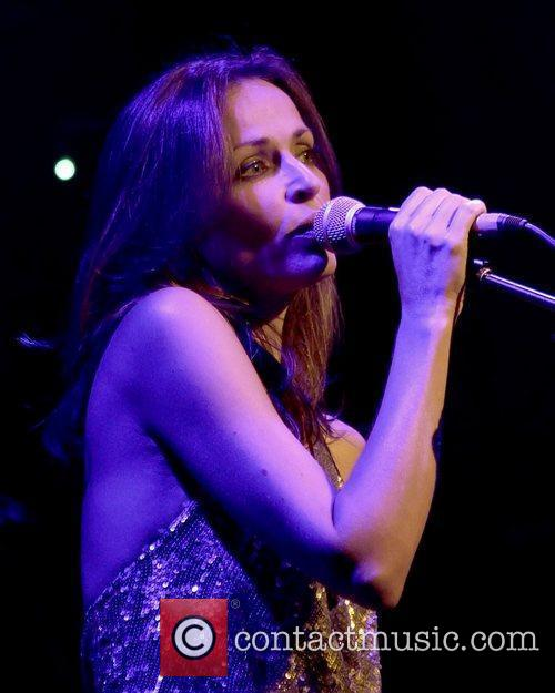 Sharon Corr performs live at the O2 Academy...