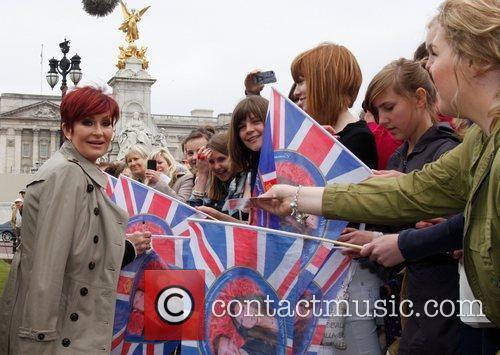 Sharon Osbourne and Buckingham Palace 10