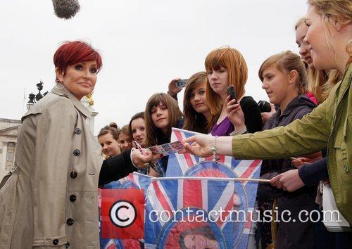 Sharon Osbourne and Buckingham Palace 11