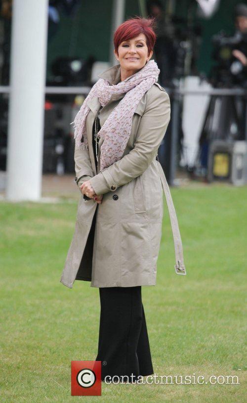 Sharon Osbourne and Buckingham Palace 9