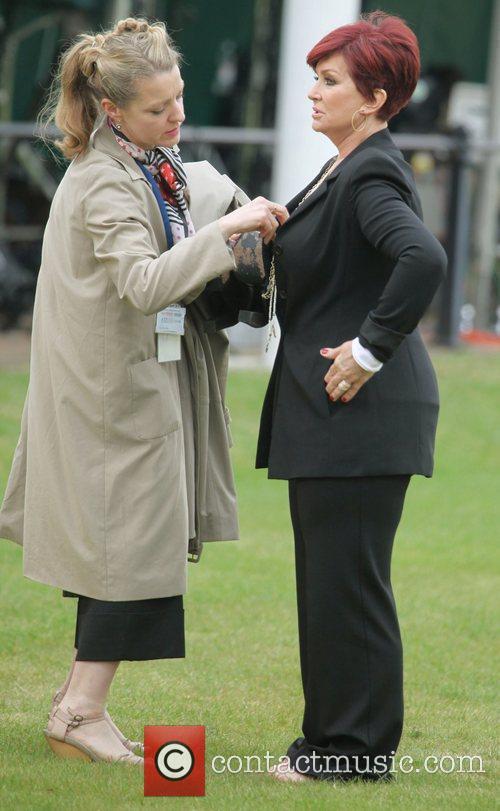 Sharon Osbourne and Buckingham Palace