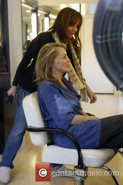 Sharon Stone and The Hair 14