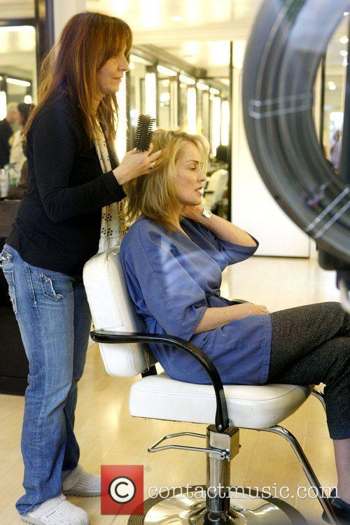Sharon Stone and The Hair 13