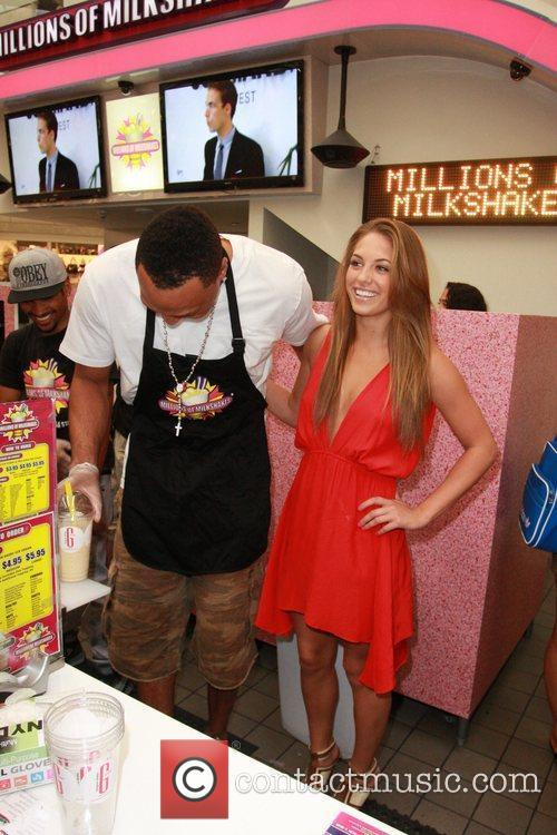 Shawn Marion of the Dallas Mavericks, with Kristina...