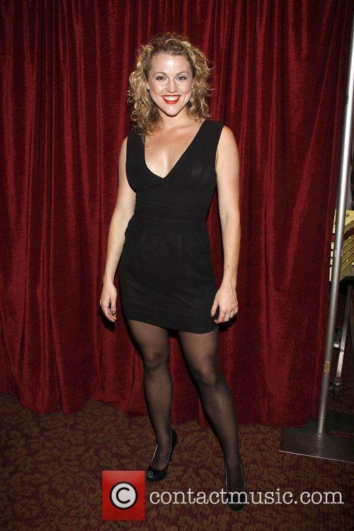 Rebecca Faulkenberry from 'Rock Of Ages' Opening night...
