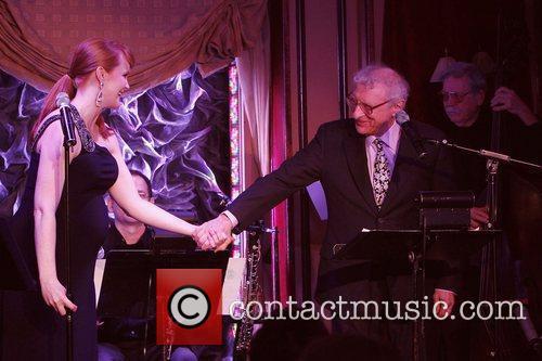 Kate Baldwin and Sheldon Harnick Opening night of...