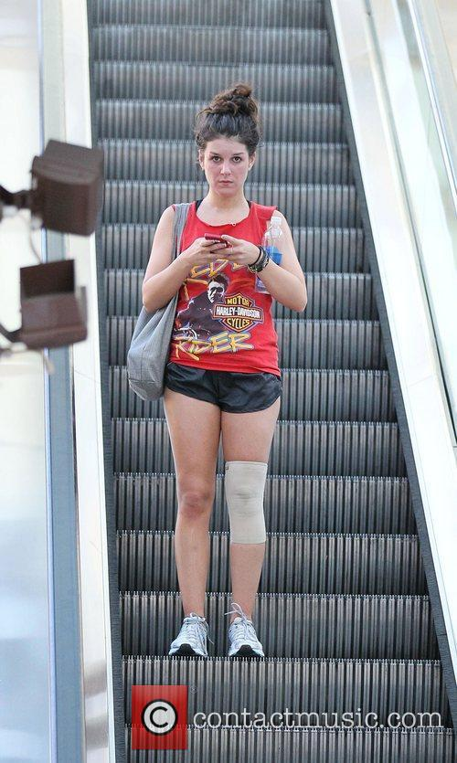 Leaving Crunch Gym following a workout. The actress...