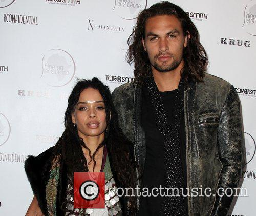 Lisa Bonet and Jason Momoa 1