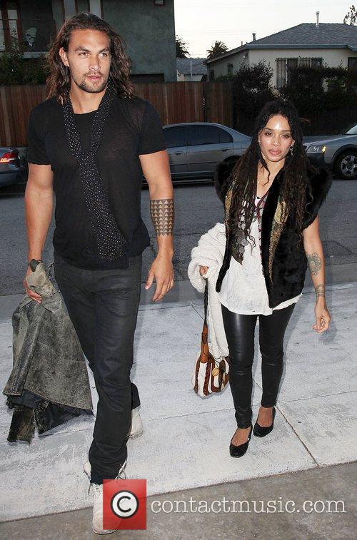 Lisa Bonet and Jason Momoa 6