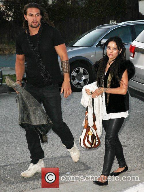 Lisa Bonet and Jason Momoa 4