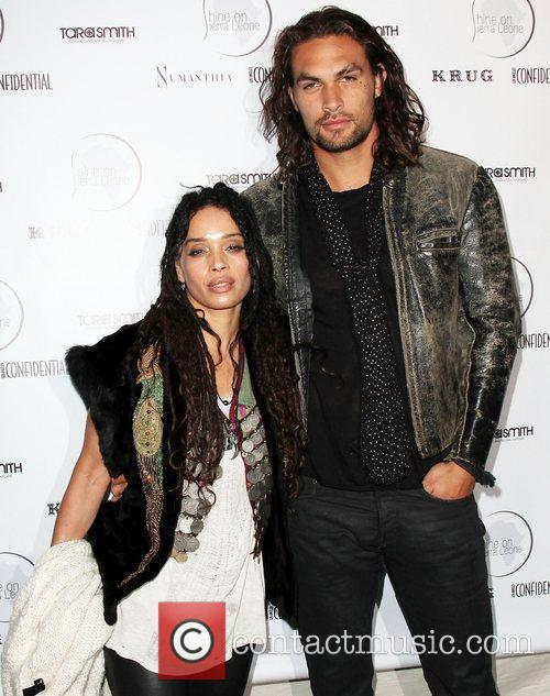 Lisa Bonet and Jason Momoa 7