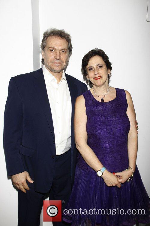 Antony Marsellis and Susan Charlotte  Opening night...