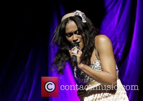 Shontelle performing live at Manchester Apollo Manchester, England