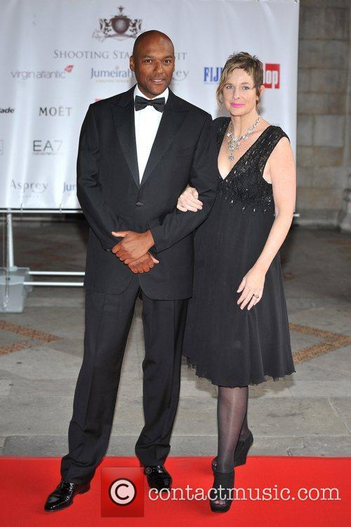 Colin Salmon and guest Shooting Stars Benefit -...